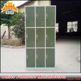 Fas-030 de school gebruikte de Kast van het Metaal van het Kabinet van 9 van Deuren Kleren van het Staal