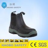 Профессиональные группы Split тисненая кожа безопасность работы обувь обувь