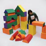 多彩な静かのSoftzone 35PCSのジャンボブロックおよびブロック