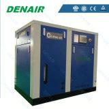 Compresseur d'air exempt d'huile à vis de réservoir en acier de vente chaude