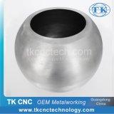 CNC del compartimiento y del crisol del metal que hace girar por la fábrica de Dongguan