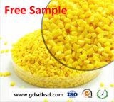 PE Colorante Amarillo Masterbatch de moldeo por inyección de plástico pellets