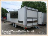 Cuisine mobile commerciale Van avec tous les matériels à cuire