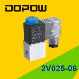 Vanne électromagnétique d'électrovanne de Dopow 2V025 pneumatique