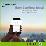 15W E26 Multicolored Controle Smartphone van de Stem (van 2000K-9000K) Gecontroleerd 6 LEIDENE van de Duim Downlight