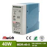 bloc d'alimentation de commutation de longeron de 40W 5VDC DIN pour l'équipement industriel