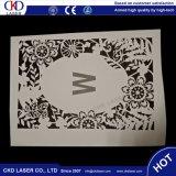 Machine de gravure de découpage de laser de CO2 pour le cuir de papier de tissu