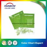 Catalogue de carte de couleur d'Emulision d'impression offset