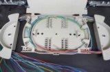 고객 까만 1u Slidable ODF 광섬유 패치 패널 (포트 12/24)