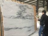 Marbre blanc de montagne de la Chine pour la tuile/brame/Worktop/partie supérieure du comptoir