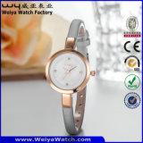 L'ODM occasionnel Quartz Watch Bracelet en cuir Mesdames Montres (Wy-074E)