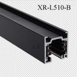 Алюминий 4 провода квадратных контакт для светодиодного освещения дорожки (XR-L510)