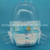 柔らかい通気性の吸収および赤ん坊の年齢別グループの使い捨て可能な赤ん坊のおむつ