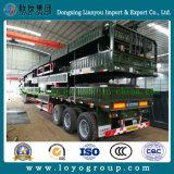 Rimorchio pesante d'acciaio ad alta resistenza della parete laterale di trasporto di carico semi