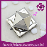 Wholesale Fashion Metal Alloy Silver Bag Turn Lock Handbag Accessories Hardware