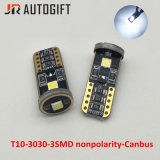 12V-24V Feux de voiture T10 3030 3SMD Ampoules LED indicateur d'automobiles Canbus