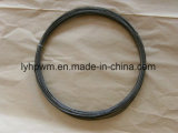 La pureza del 99,95% de 1,2 mm de diámetro de alambre de tungsteno horno de cristal simple cuerda