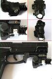 Mini lanterna elétrica tática compata do diodo emissor de luz da pistola com CREE Q5 80-100 lúmens com função do estroboscópio