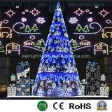De Decoratieve LEIDENE van het landschap Kerstboom van de Toren
