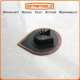 lame multi de oscillation Baisse-Shaped de carbure d'outil de déchirure de 70mm (2-3/4 '')