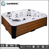 Sunrans Acrylic Massage SPA 112 de HydroStralen van PCs met de Massage van de Draaikolk