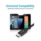 LG G6 / LG V30 Cable cargador USB de 6 pies de tipo C para un cable de carga