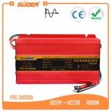 Suoer 12V 220V 1000W Чистая синусоида инвертирующий усилитель мощности с ЖК-дисплеем (FPC-D1000A)
