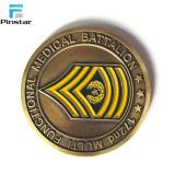 Usine de pièces de métal de la qualité de gros défi personnalisé Coin