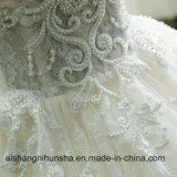 Robe de mariage faite sur commande de robe de bille de cru de la Chine 2017