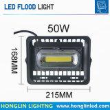 illuminazione stradale del giardino del riflettore dell'indicatore luminoso di inondazione del diodo di 50W 220V LED