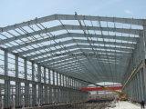 専門家によって設計されるプレハブの鉄骨構造の構築