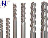 Molinos de extremo sólidos profesionales de las flautas del carburo 3 para el aluminio con alta calidad