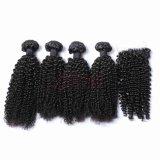 Prix d'usine Remy vierge naturelle des cheveux humains péruvien de la trame