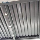 Außenaluminiumsun-Luftschlitz-Dachpergola-Gebäude-Schattierung-System