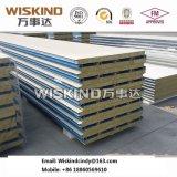 PPGI Colorgold Felsen-Wolle-Zwischenlage-Panel mit Bescheinigung ISO9001