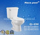 위생 상품 목욕탕 (DL-036)를 위한 2개 피스 화장실
