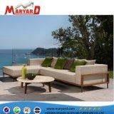 Sofá de teca mobiliário de madeira sólida Patio Piscina Sofá