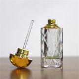 De Groothandelaar van de Fabriek van de Decoratie van de Fles van het Parfum van het Glas van het Kristal van het Parfum van de luxe in China met Geel of Duidelijk Wit GLB