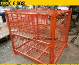 Grande formato accatastabile della gabbia del pallet della maglia del nastro metallico in L2200*W1100*H1100mm