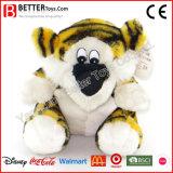 Jouet mou de tigre de peluche de peluche de cadeau de promotion pour des gosses/enfants de bébé