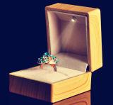 De verschillende Doos van de Gift van de Dozen van de Juwelen van de Doos van de Juwelen van de Douane van de Luxe Houten Houten