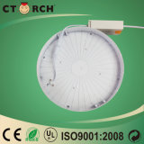 Superfície interior Ctorch Rodada 6W-24W luz de tecto LED Modern