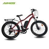 Beach Cruiser Banheira de venda de bicicletas eléctricas com 36V 10AH BATERIA