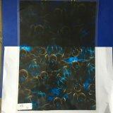 Energía hidraúlica azul del negro fresco del cráneo que sumerge las películas para las etiquetas engomadas S01hc1095b del coche