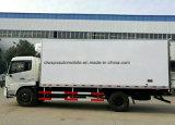 Dongfeng 4X2에 의하여 냉장되는 트럭 고품질 냉장고 수레 트럭