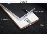 Cargador móvil sin hilos de la radio de Qi de la batería de la potencia del precio al por mayor del golpe