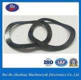 Rondelles à ressort de rondelle de noir du finissage DIN137 de blocage en acier d'onde