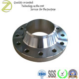 Custom CNC bride du tuyau de pièces