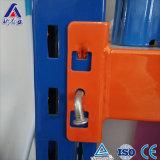 Shelving ajustável do metal da proteção de corrosão do armazenamento do armazém