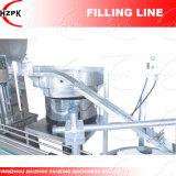Taponadora lineal+4 Jefes Pate y Llenado de líquido/Líquido Máquina de Llenado de China